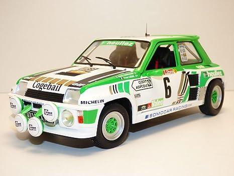 1985 Renault R5 Turbo Grupo B Rallye de Loreze 1:18 Solido 1801303