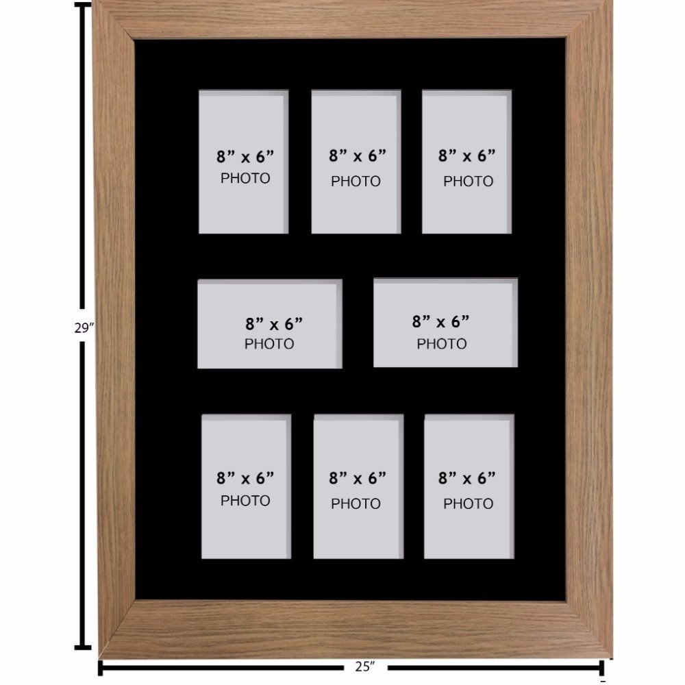 Amazon.de: Kwik Picture Framing Ltd Großer Multi-Bilderrahmen Foto ...