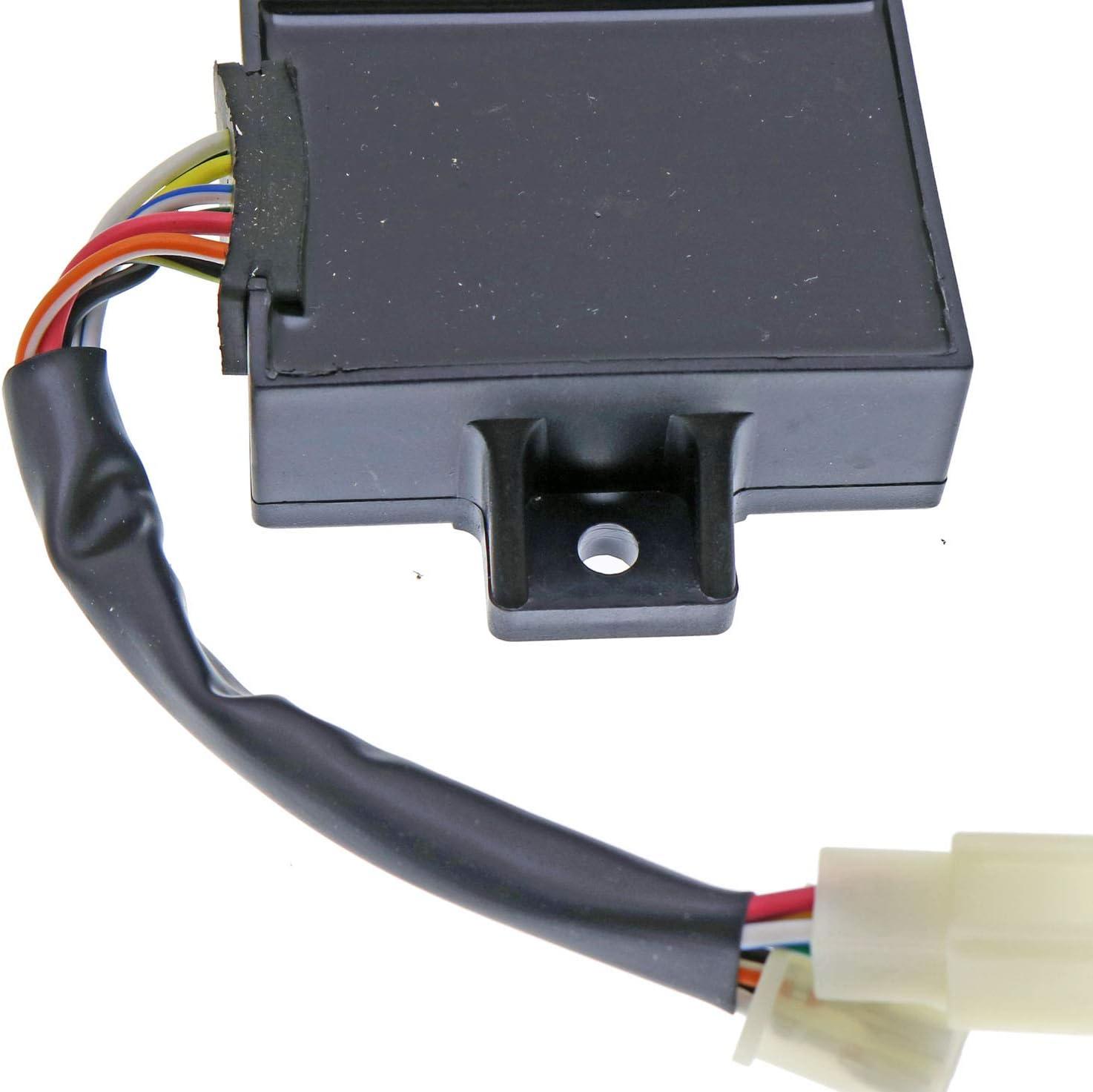 JEENDA Ignitor CDI Box 21119-2157 Igniter Compatible with Kawasaki Mule 2500 Mule 2510 Mule 2520 2007 /& Prior