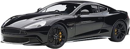 Amazon Com 2017 Aston Martin Vanquish S Onyx Black 1 18 Model Car By Autoart 70271 Toys Games