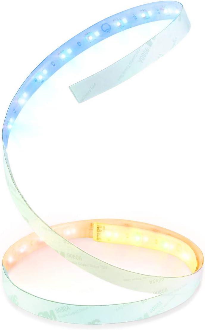 LIFX LZ1MEUC07EU Ruban Lumineux LED Rallonge, Plastique, 7 W, Blanc, 95 x...
