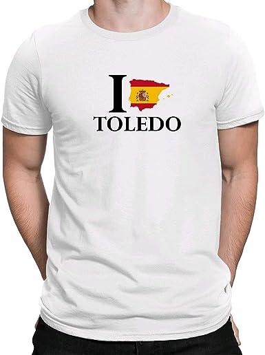 I Love Toledo España, Camiseta para Hombre Manga Corta Hombre ...