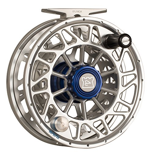 (HARDY Ultralite SDSL Fly Reel, Color: Silver / Blue, Line: 8/9/10, Capacity: WF11+290/30lb Dacron (HRESDLS020))