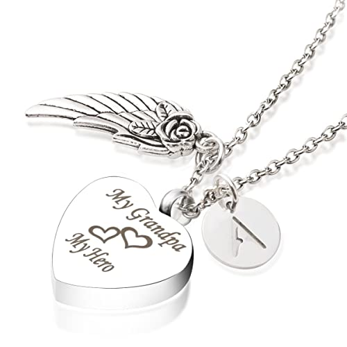 """K-Y Engraved /""""My Brother My Friend/"""" Memorial Mini Urn Ashes Keepsake Cremation Jewelry"""