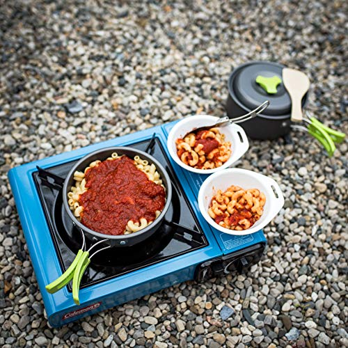 MalloMe Camping Cookware Mess Kit Backpacking Gear /& Hiking Outdoors Bug Out ...