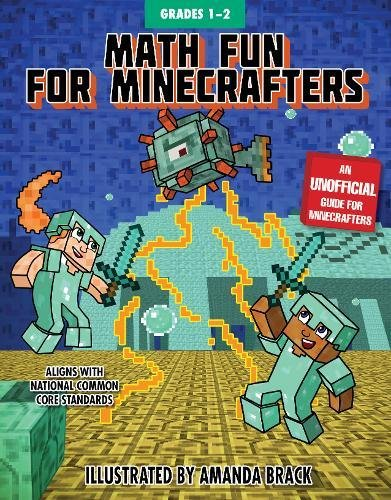 Math Fun for Minecrafters: Grades 1–2 (Math for Minecrafters)