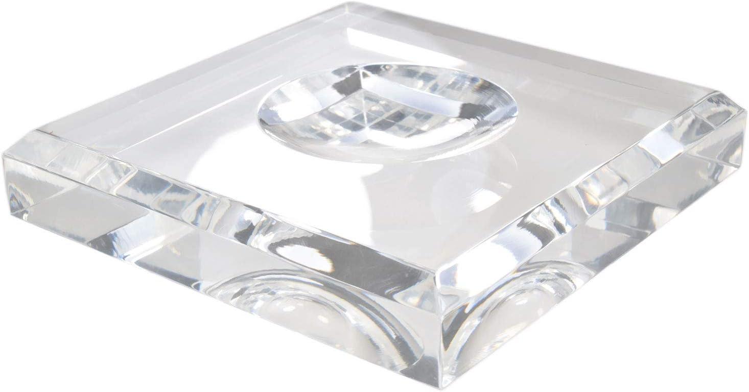 5 MEDIUM Plastic Display Rings Stands for Quartz Crystal /& Stone Spheres