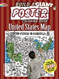 Build a Giant Poster Coloring Book -- United States Map (Dover Build A Poster Coloring Book)