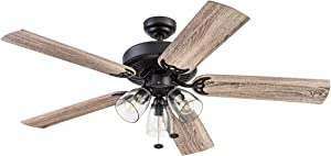 Prominence Home 51593 Saybrook Ceiling Fan, 52, Bronze