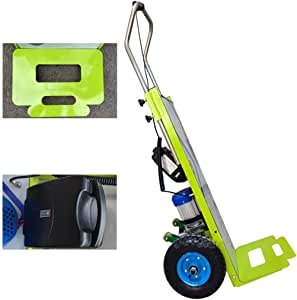 XH-Tool Electric Stair Climbing Cart Portable Climbing Cart 240 kg,Portable Stair Climber Hand Truck Heavy Duty with 2 Wheels,Brushless DC Motor /& Power Battery