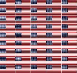 Safety Depot Hard Hat American Flag Sticker Decal Weather Resistant Flexible Vinyl Suitable for Cars, Windows and Smooth Surfaces. (50 Pack)