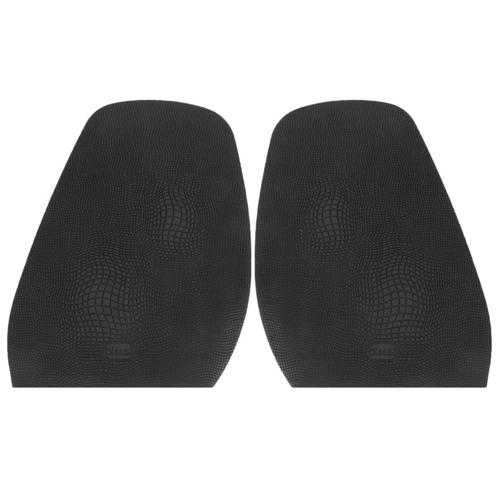 Footful 1 Paire Demi-Semelle Avant-pied de Chaussure Réparation de Chaussures Epaisseur 1, 9 mm
