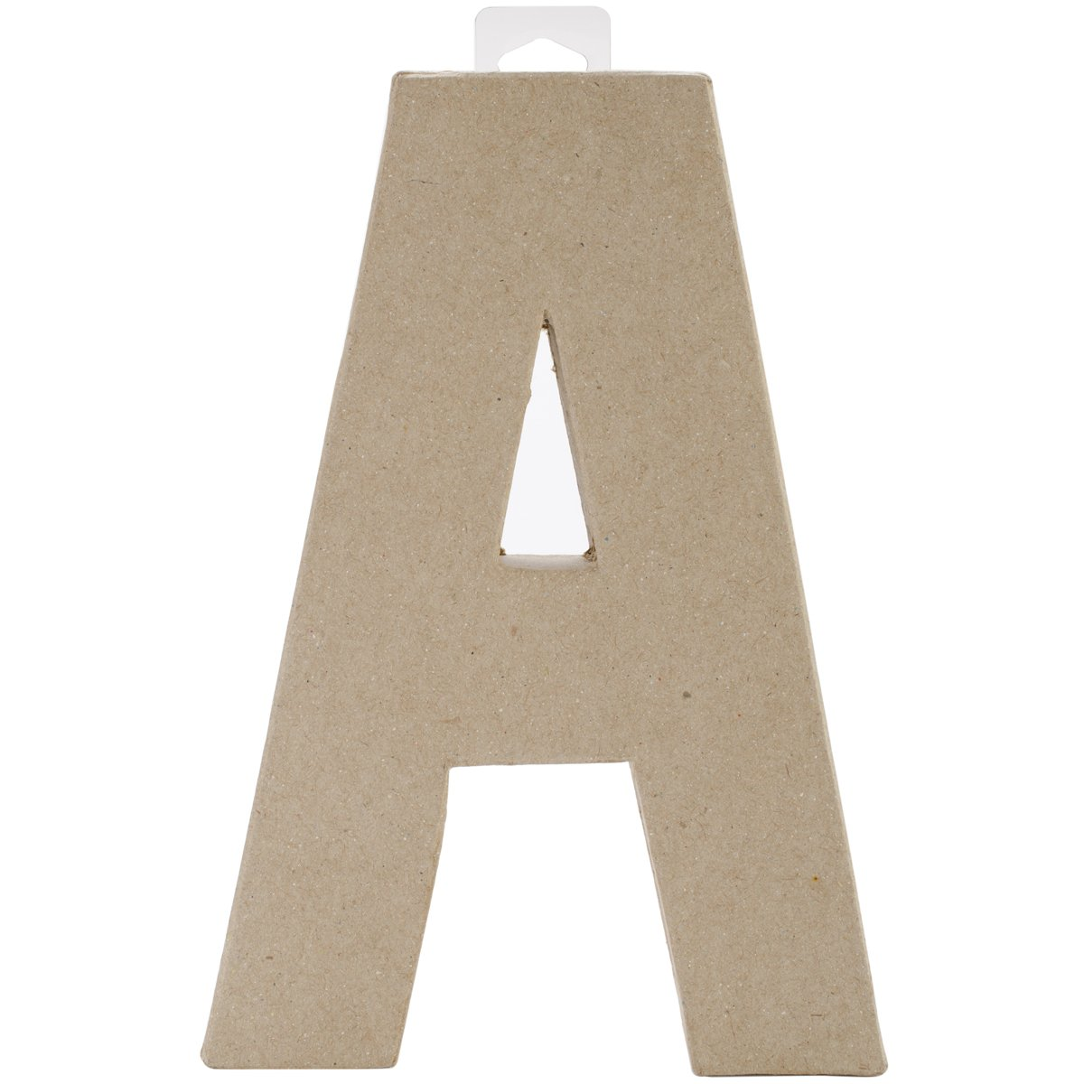 amazoncom paper mache letter a 8 x 55 x 1 inches home kitchen