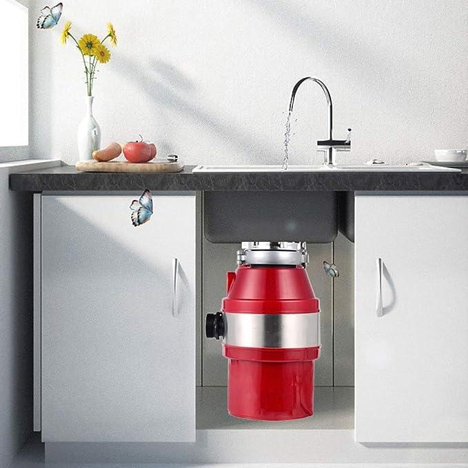 Zcbm Triturador De Basura 1400 Ml 450 W Acero Inoxidable Sink ...
