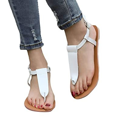 059509a47a5e13 Women s Summer Flip-Flops Peep Toe Sandals