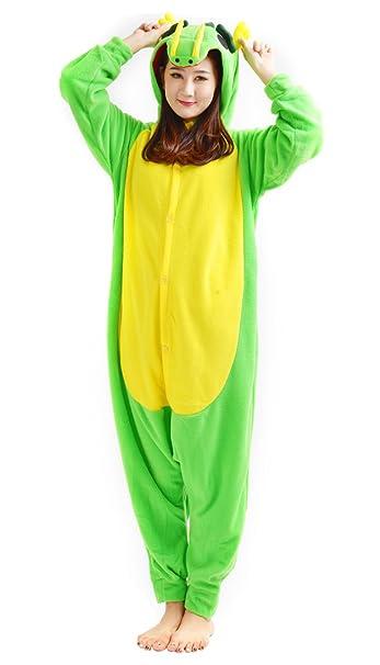 DATO Ropa de Dormir Pijama Dragón Cosplay Disfraz Animal Unisexo Adulto: Amazon.es: Ropa y accesorios