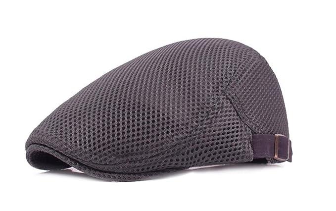 Gorras de Boina Respirables para Hombre de Verano Unisex Gorra ...