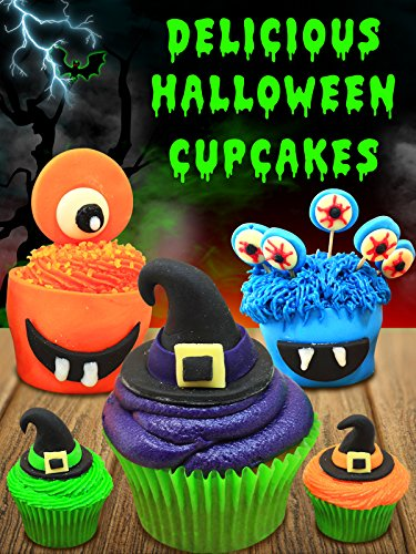 Halloween Ghost Recipes (Delicious Halloween Cupcakes)