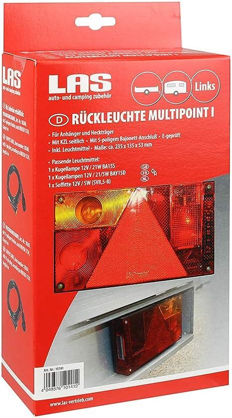 LAS 10141 R/ückleuchte Multipoint I Links
