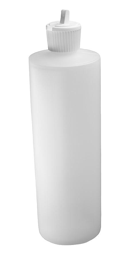 J & S Squeeze botella con tapón - 1 pinta (16 oz) - 4 ...