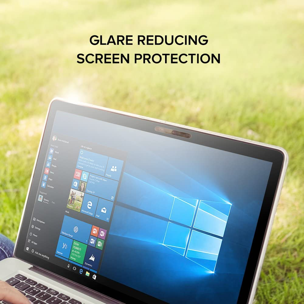 Pack of 2 Celicious Matte Anti-Glare Screen Protector Film Compatible with Dell Inspiron 15 3552