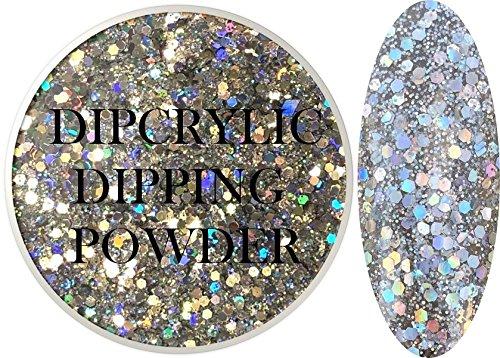 SHEBA NAILS Dipcrylic Dip Dipping Powder Unicorn Poop STARLIGHT - 1oz Jar by Sheba Nails