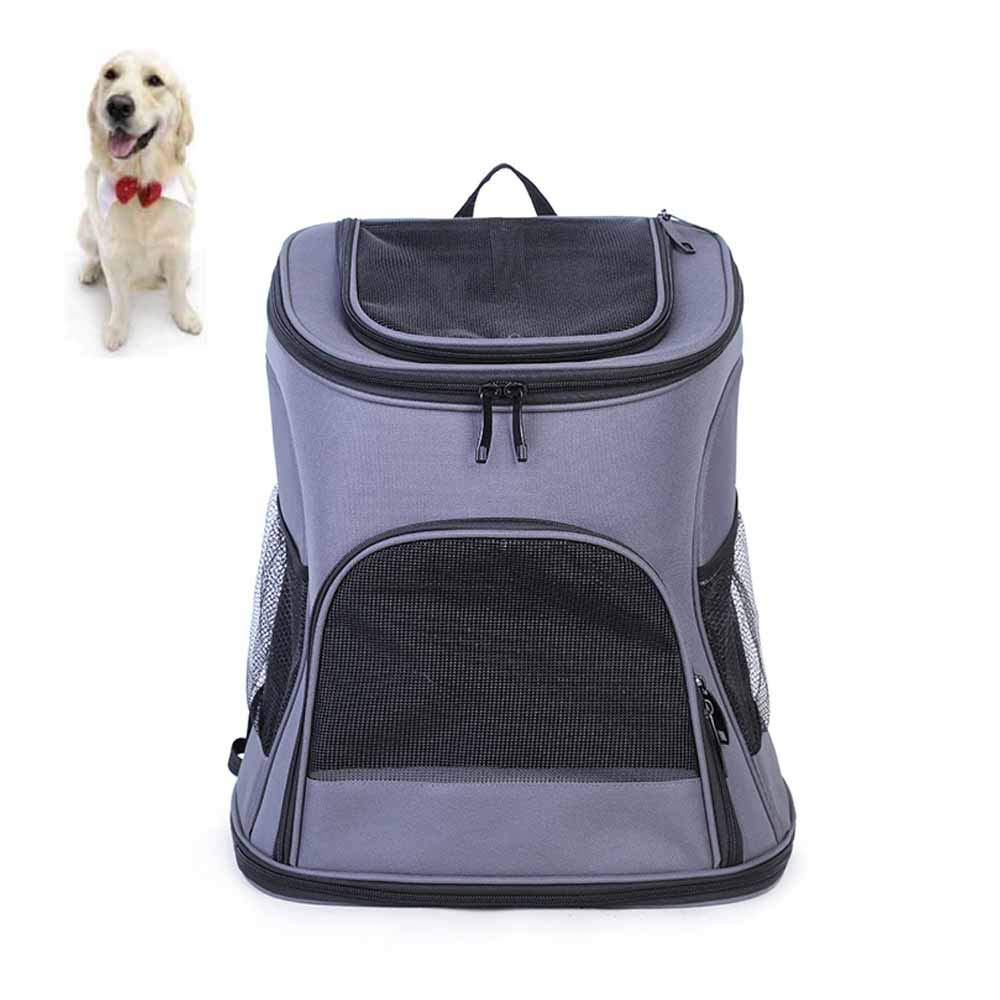 ACLBB Collapsible spaceship pet backpack, large capacity pet handbag, carrying cats, dogs, pets