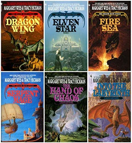 The Death Gate Cycle Set: Dragon Wing / Elven Star / Fire Sea / Serpent Mage / Hand of Chaos / Into the Labyrinth