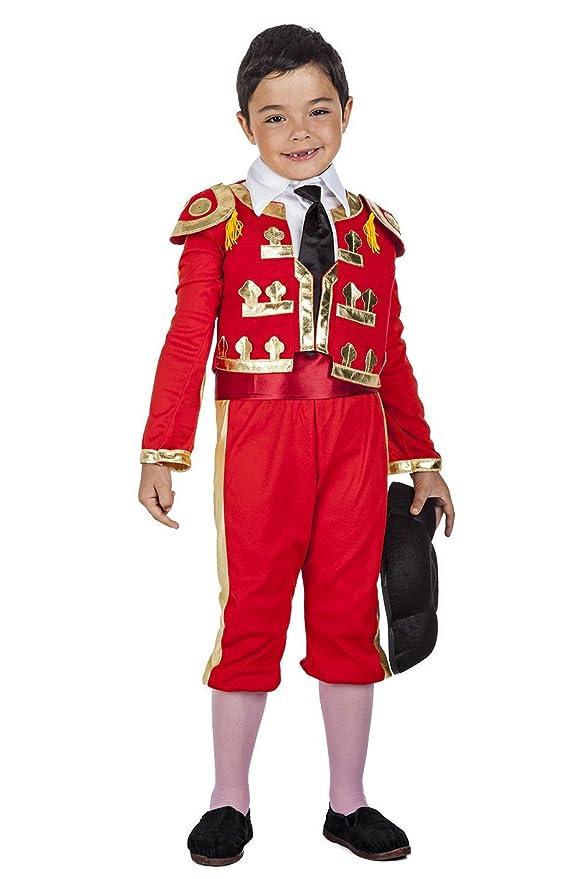 Disfraz de Torero para niño: Amazon.es: Juguetes y juegos