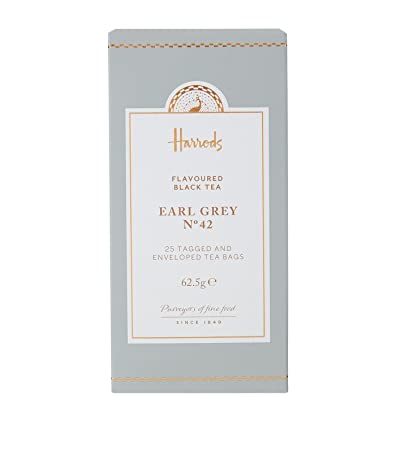 Harrods, nº 42 Earl Grey té (20 bolsas de té: Amazon.com ...