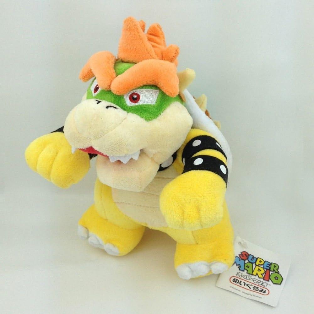 Super Mario Bros King Bowser Koopa Peluche Felpa Muñecas de ...