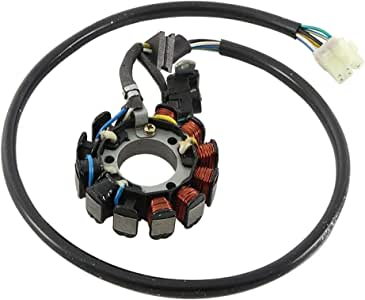 Total Power Parts New 340-22021 Stator Coil Replacement for Briggs /& Stratton Lawn Mowers 695730 ABS4002