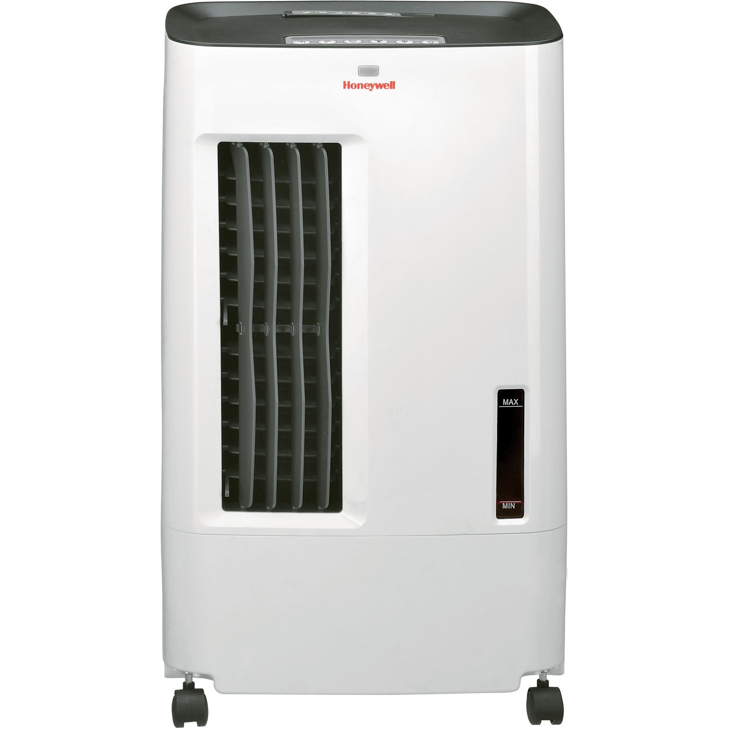 Honeywell CSO71AE 176 CFM Indoor Evaporative Air Cooler (Swamp Cooler) with Remote Control in White/Gray by Honeywell
