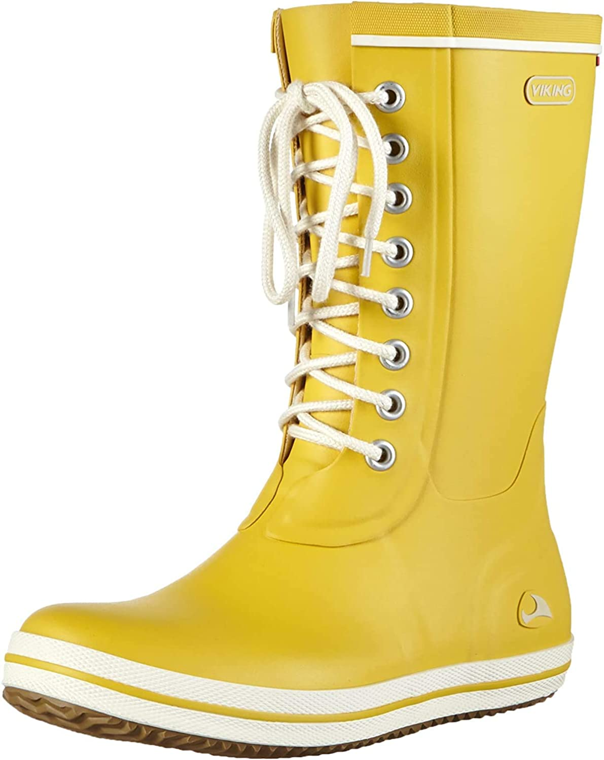 viking Damen Retro Light Gummistiefel Gelb Yellow 13