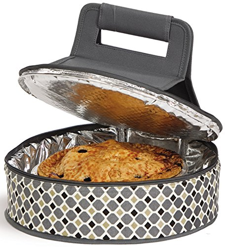 Cake N Carry Round Insulated Cake Carrier by Picnic Plus
