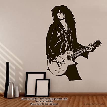 Slash Wall Decals Legends Of Music Stickers Decorative Design Ideas For Your Home Or Office Walls Removable Vinyl Murals Ec 1150