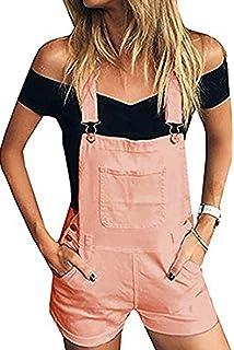 Amazon.com: CSSD Mono suelto para mujer con bolsillo ...