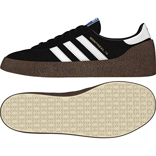 huge selection of 56aaa 944bb adidas Mens Montreal 76 Fitness Shoes, Black (NegbasFtwblaDormet 000)