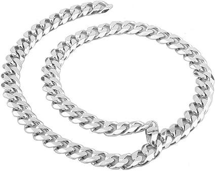 bijoux acier homme tour de cou