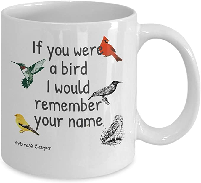 Details about  /Funny Birding Bird Watching Mug Best Novelty Gift for Birders Bird Nerds