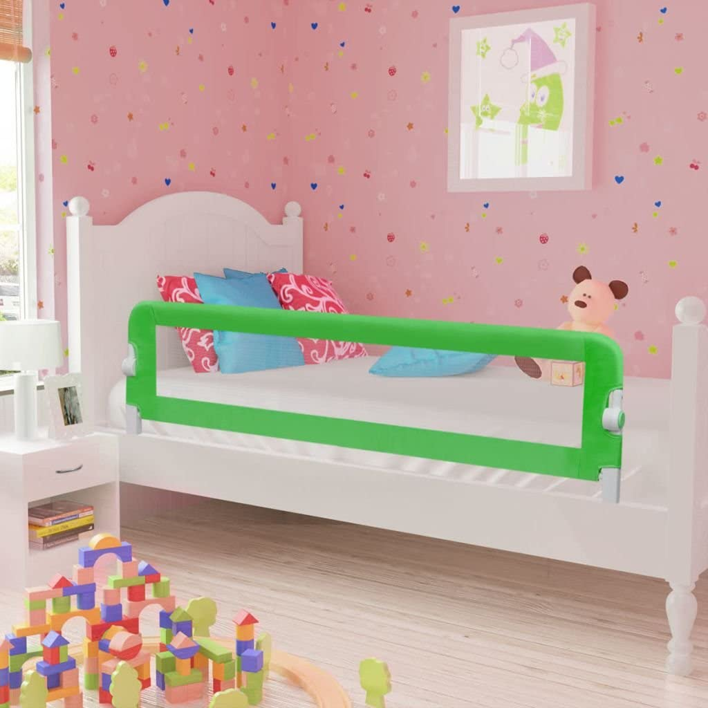 Anself Baby Child Toddler Safety Bed Rail 102 x 42 cm Blue