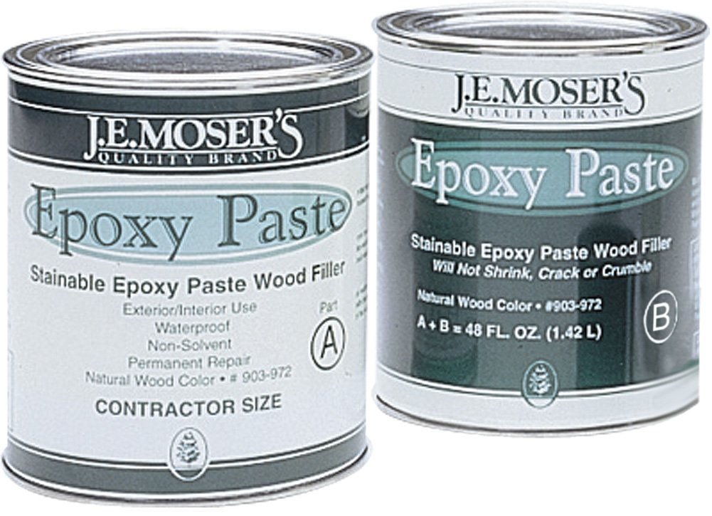 J.E. Moser's 903972, Finishes, Fillers, Epoxy Paste Kit