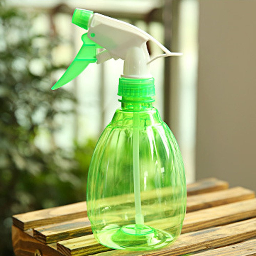 Covermason Plastico Botella de Spray Regar Flores Rociador de Agua para Plantas(Verde): Amazon.es: Jardín