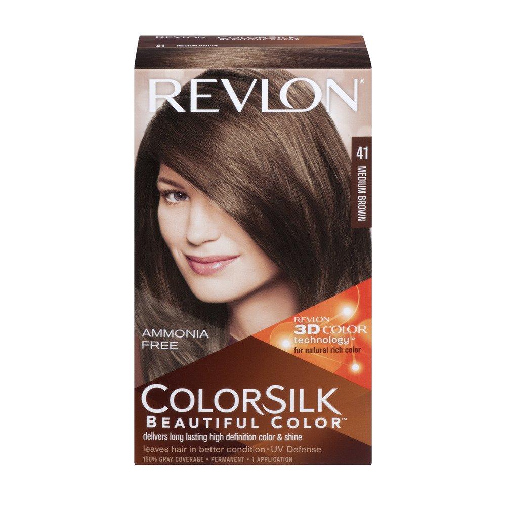 Amazon Revlon Colorsilk Beautiful Color 41 Medium Brown 1 Ea
