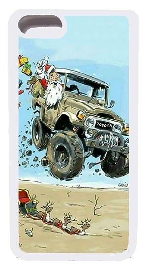 Christmas Jeep.Amazon Com Iphone 7 Plus Case Custom Merry Christmas Jeep