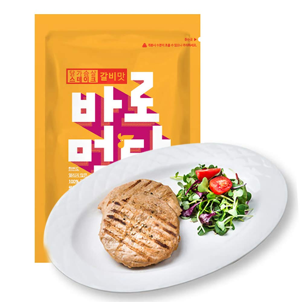 Not frozen Fully cooked healthy Chicken breast cubes Ready to eat right away Pack (Steak, 30 Pack)