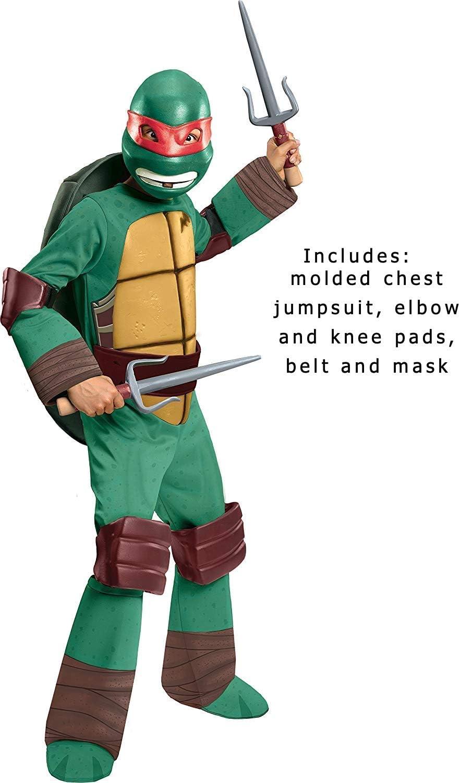 Amazon.com: Disfraz Rubies de Rafael de las Tortugas Ninjas ...