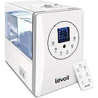 LEVOIT Humidificador Ultrasónico de Niebla fría y caliente de 6L para dormitorios y bebés con monitor remoto y de…