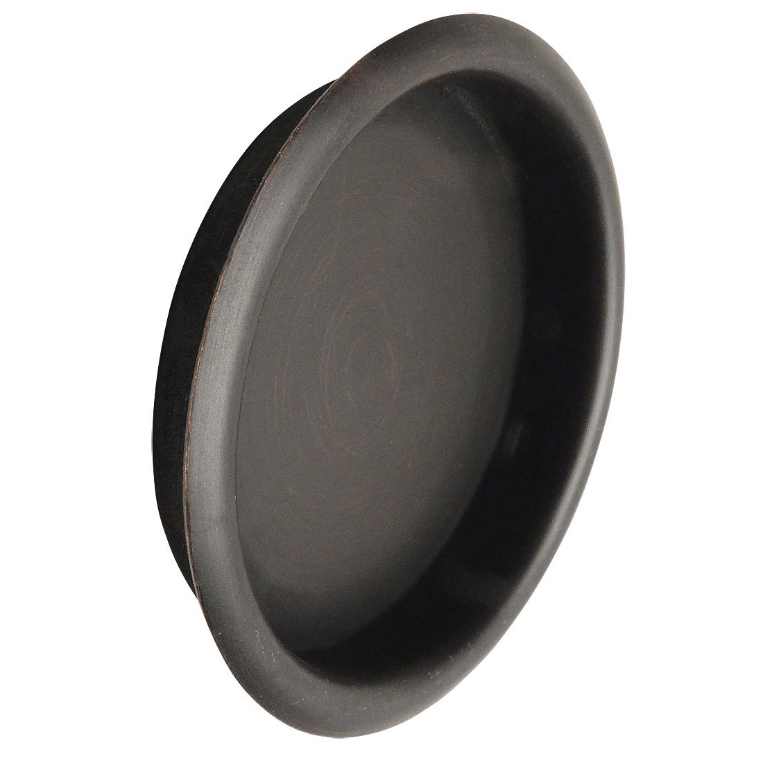 Designers Impressions Oil Rubbed Bronze 2-1/8'' Pocket Door Finger Cup Pull : 47651