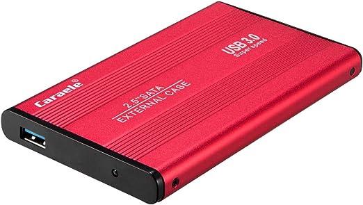 HDD 外付け 500GB/1T/2T 2.5インチ USB3.0 SATA ハードドライブ 金属 ポータブル - 1T